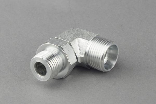 Adaptadores hidráulicos de codo