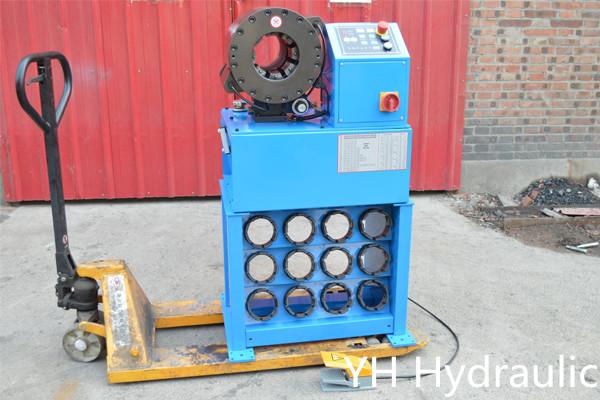 """Máquina prensadora de mangueras 2 """""""