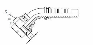 Conjunto de manguera hidráulica R1AT