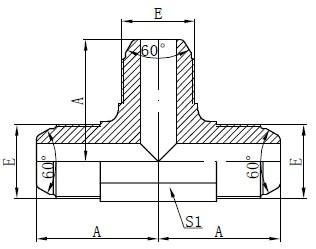 Dibujo de montaje estándar AK ganador